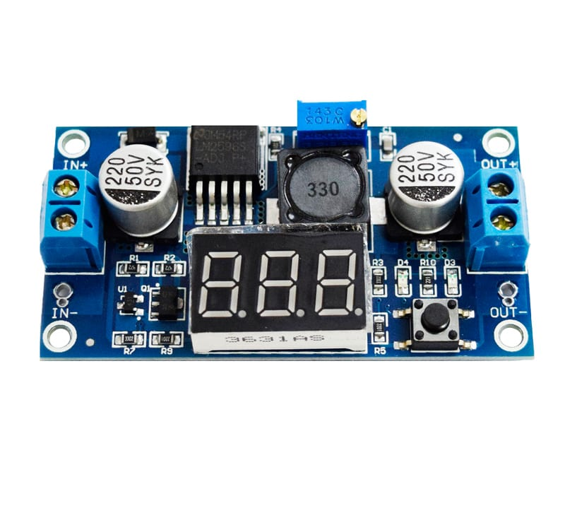 DC-DC Buck Converter with 7 Segment Display LM2596 Philippines