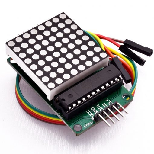 8x8 Dot Matrix LED Display Module MAX7219