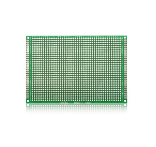 FR4 Protoboard Double Sided Universal PCB 8x12 cm