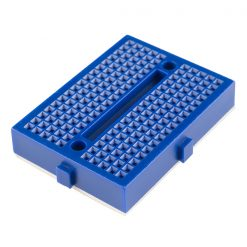 Mini Breadboard 170 Tie-Points Blue