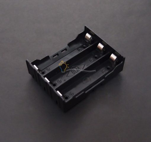 3-Cell 18650 Battery Holder Series-Parallel