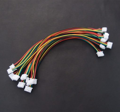 4-Pin JST XH Female Connector Double Ended