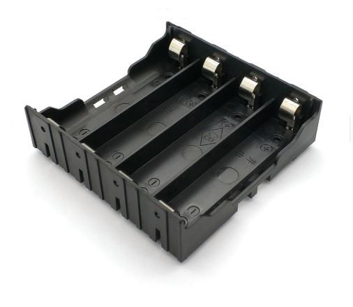 4-Cell 18650 Battery Holder Series-Parallel