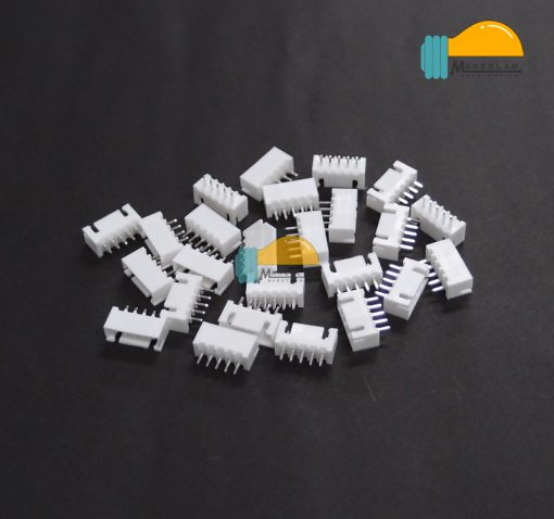 5-Pin JST XH Shrouded Male Connector Straight